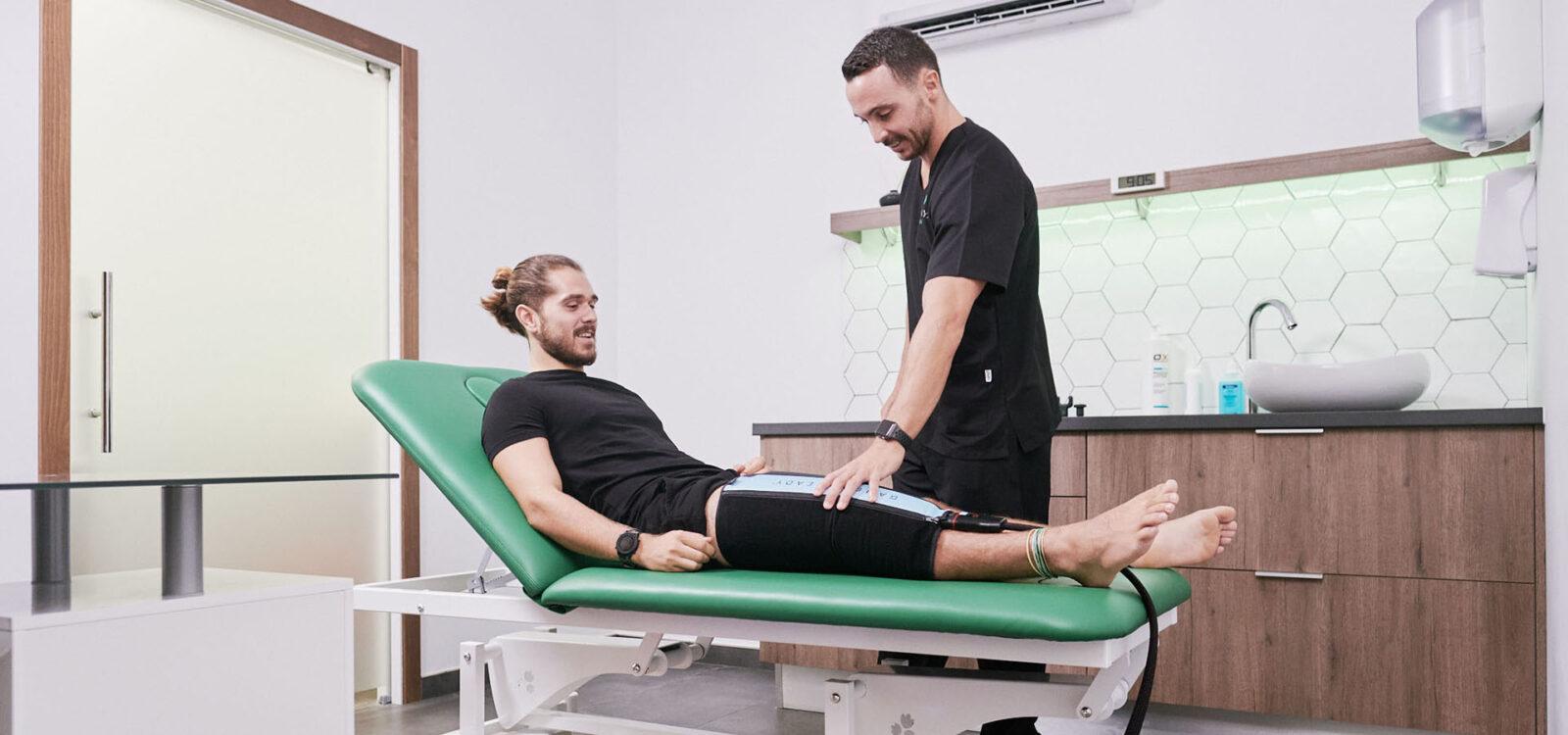 Cabecera de portada de fisioterapia